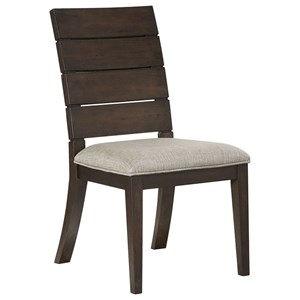 Contemporary Ladder Back Side Chair