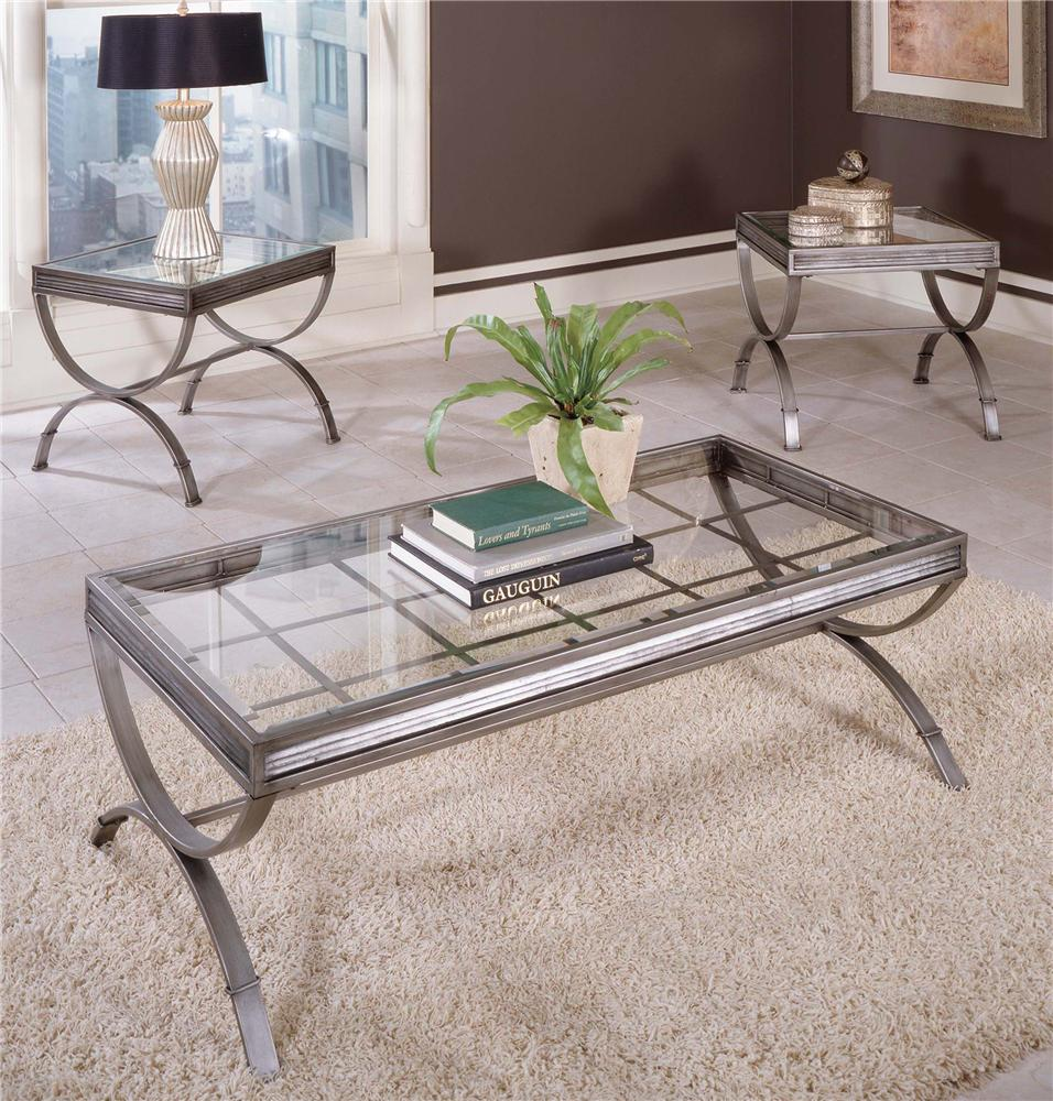 Emerson EM 3 Pack Occasional Table by Steve Silver at Northeast Factory Direct