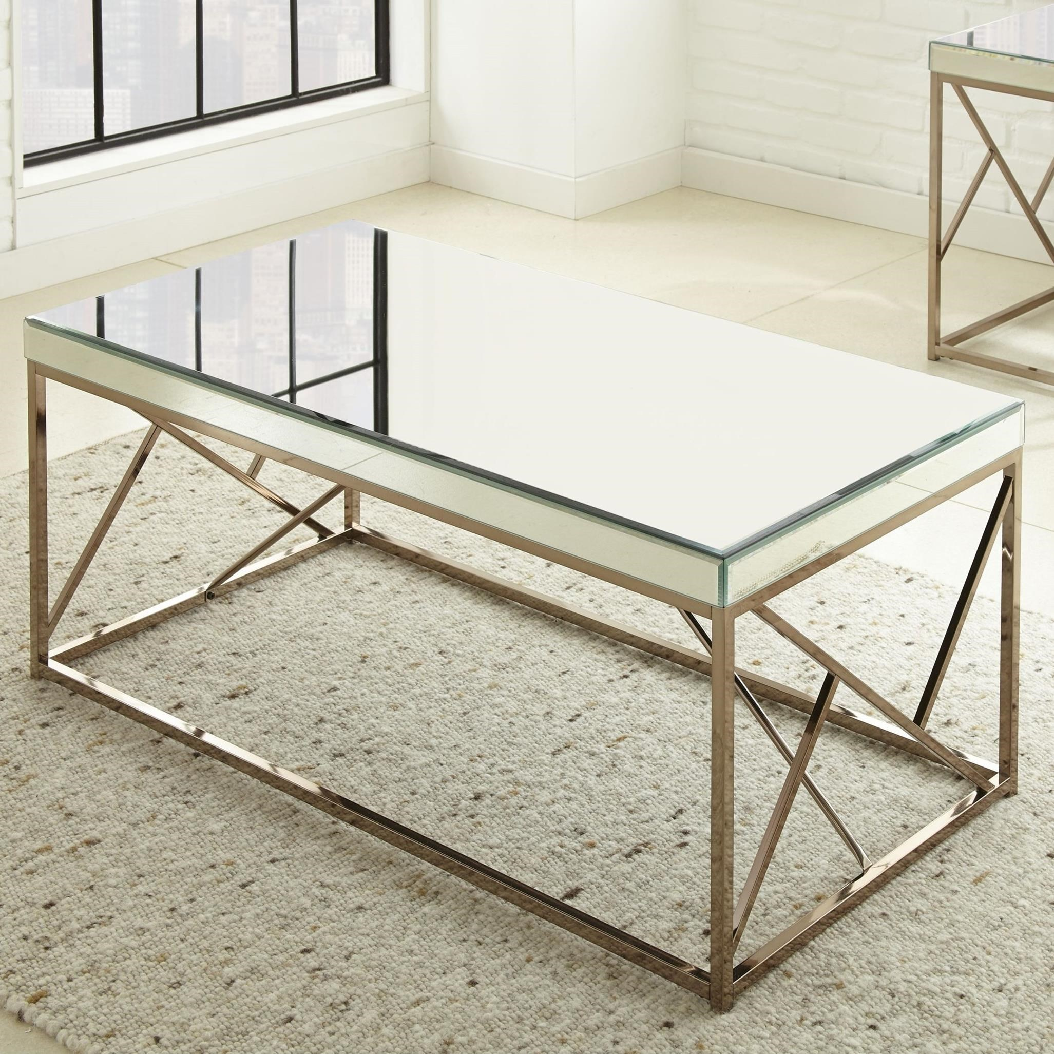 Evelyn Cocktail Table by Steve Silver at Northeast Factory Direct