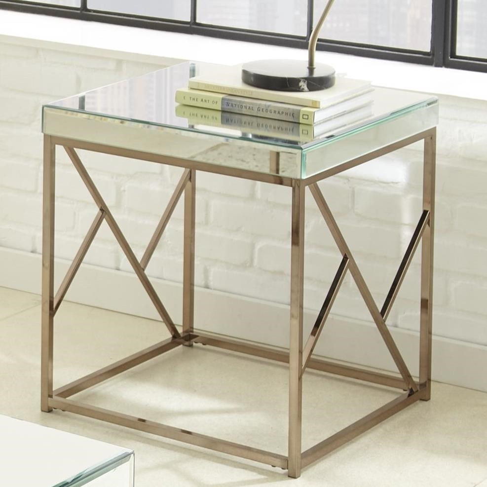 Evelyn End Table by Steve Silver at Northeast Factory Direct