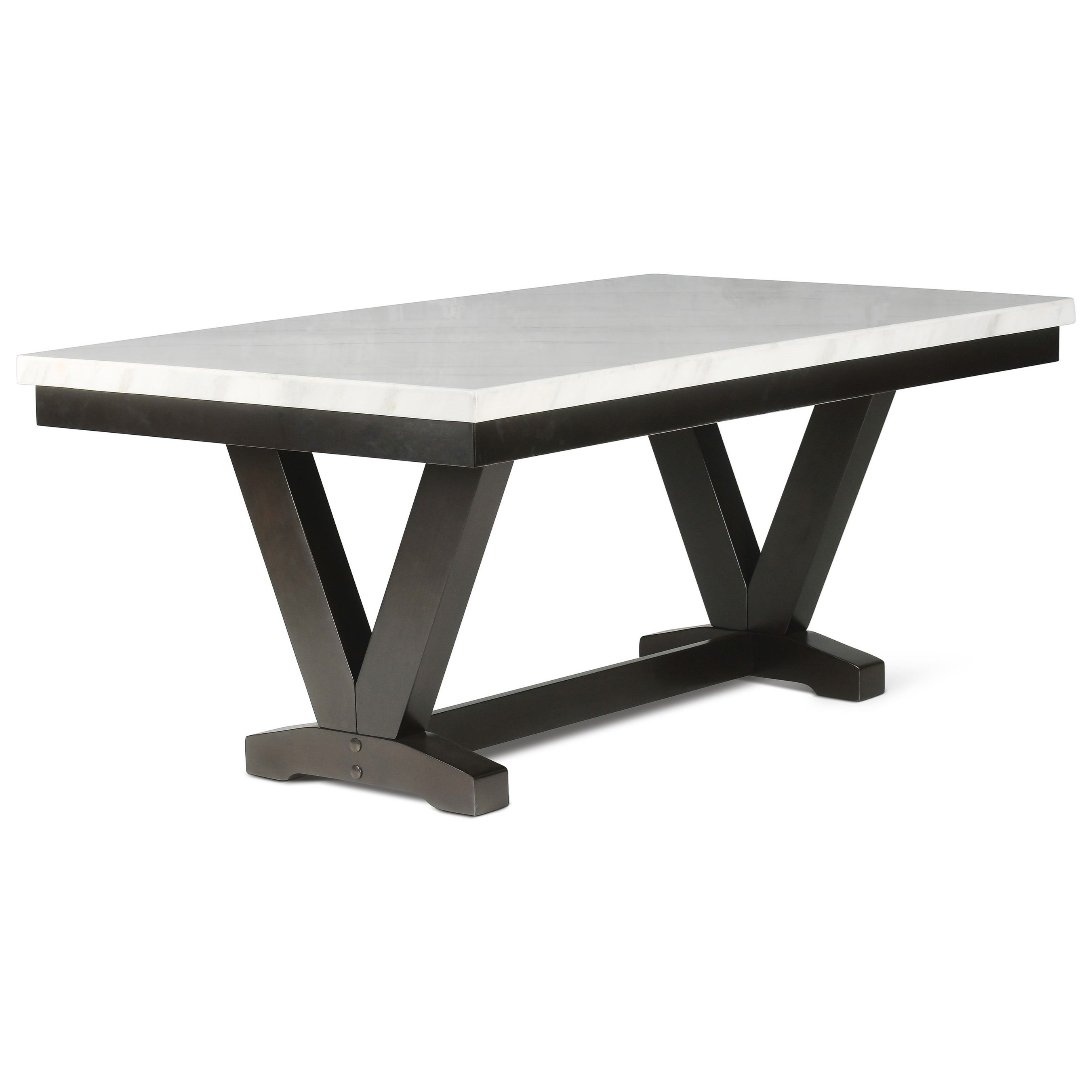 Finley Dining Table by Steve Silver at Walker's Furniture