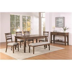 Foxwell 6-Piece Dining Set