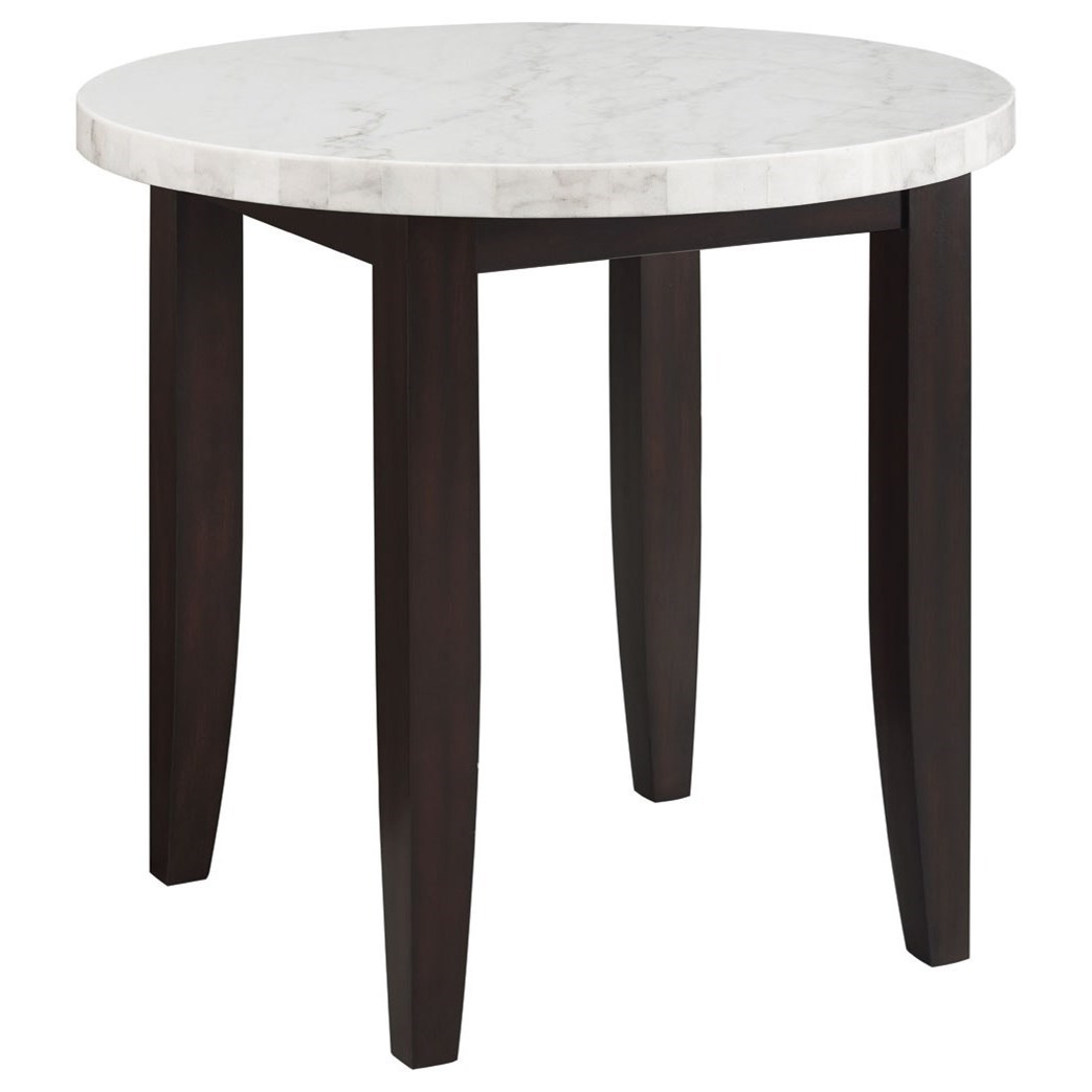 Francis Counter Height Dining Table by Steve Silver at Walker's Furniture