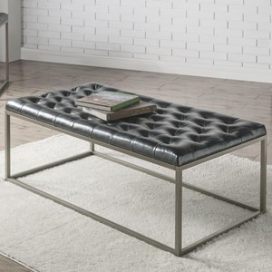 Tufted Upholstered Cocktail Table