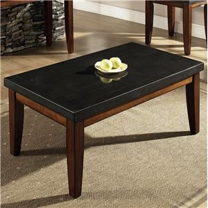 Rectangular Granite Top Cocktail Table