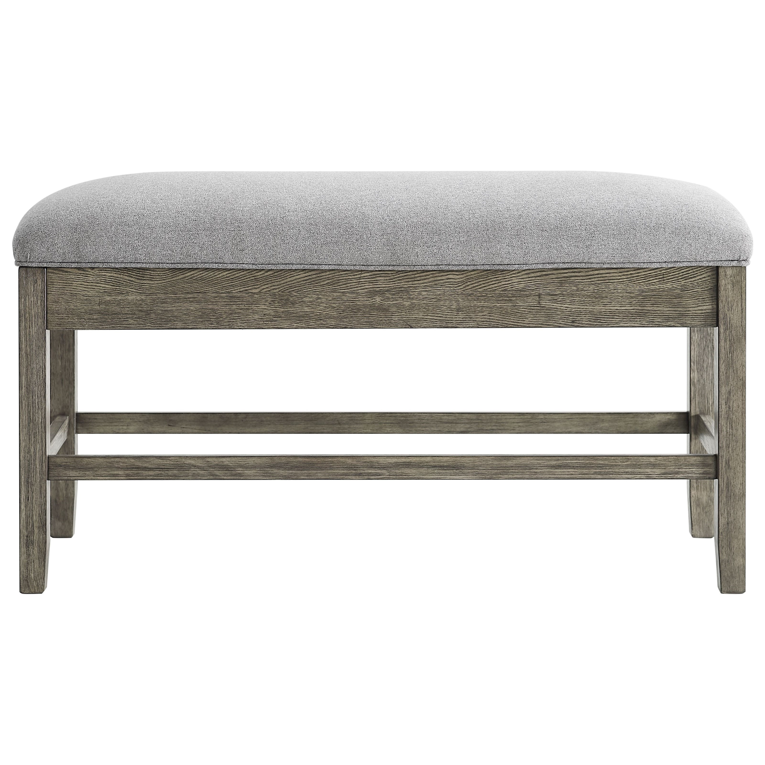 Grayson Counter Height Storage Bench by Steve Silver at Walker's Furniture