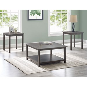 Transitional 3-Pack Occasional Tables