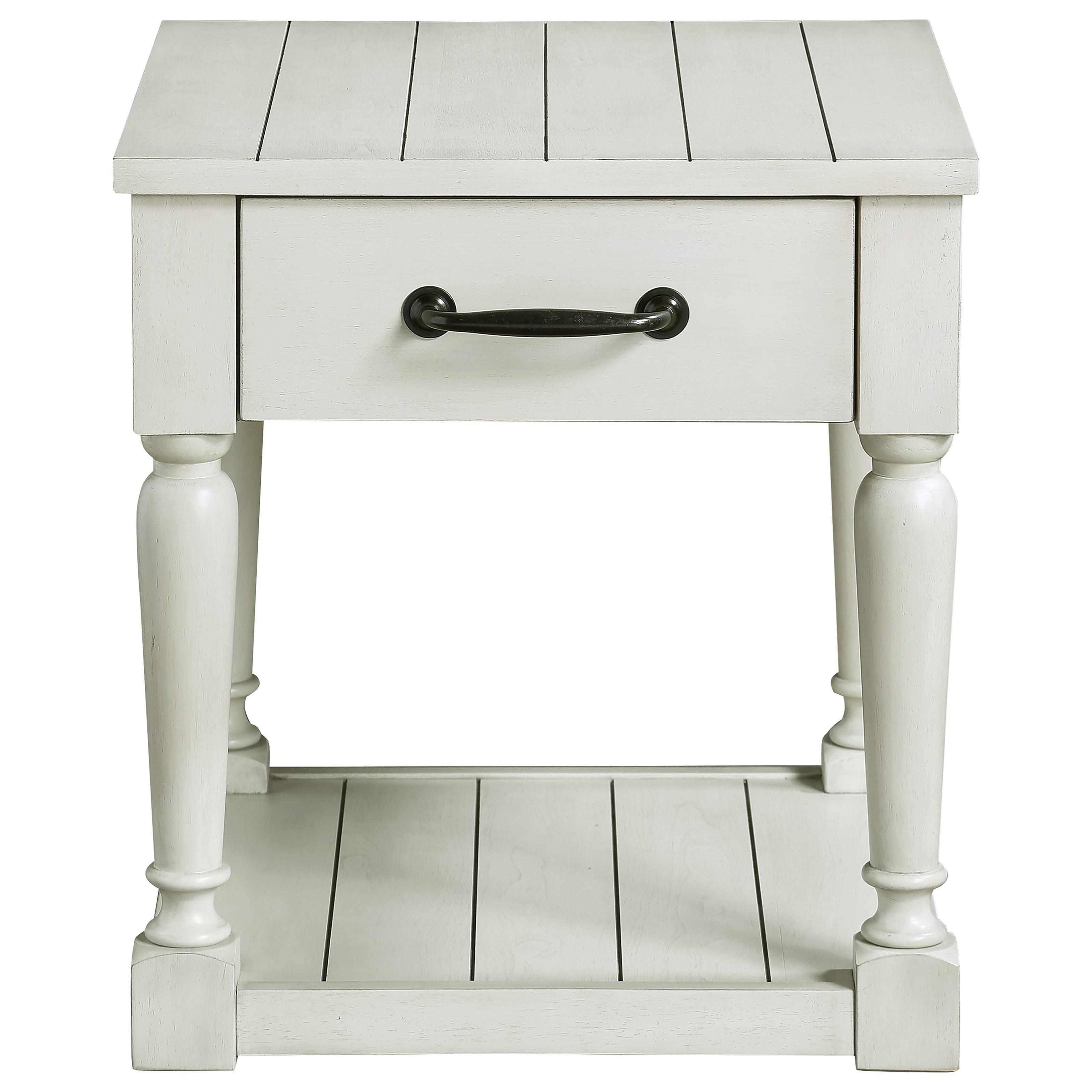 Hemingway End Table by Steve Silver at Walker's Furniture