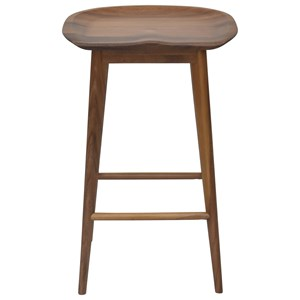 Transitional Counter Height Bar Stool