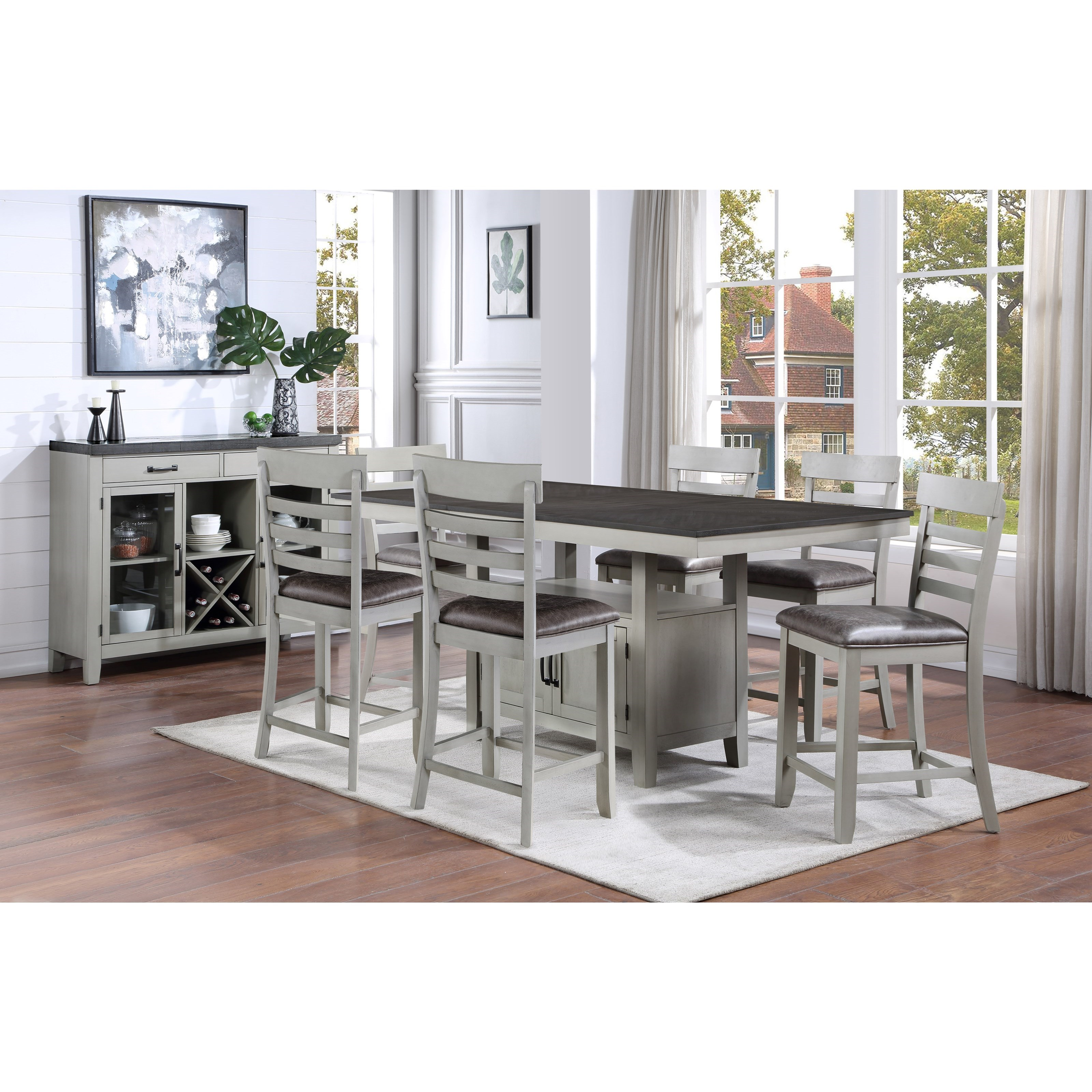 Hyland Dining Room Group by Steve Silver at Northeast Factory Direct