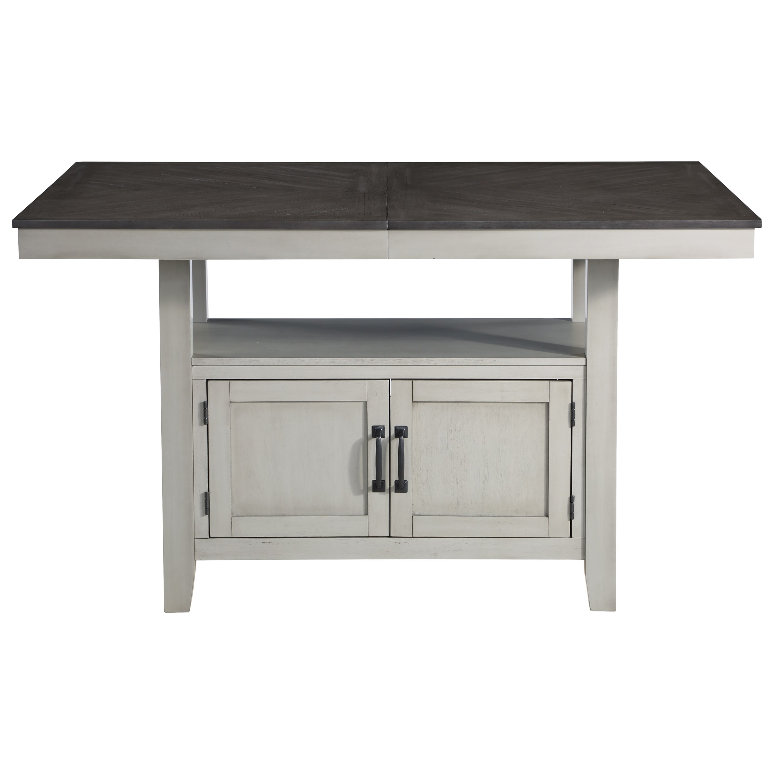 """Hyland Counter Table w/ 20"""" Leaf by Steve Silver at Walker's Furniture"""