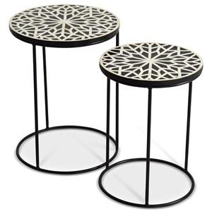 Contemporary Amisha Nesting Tables