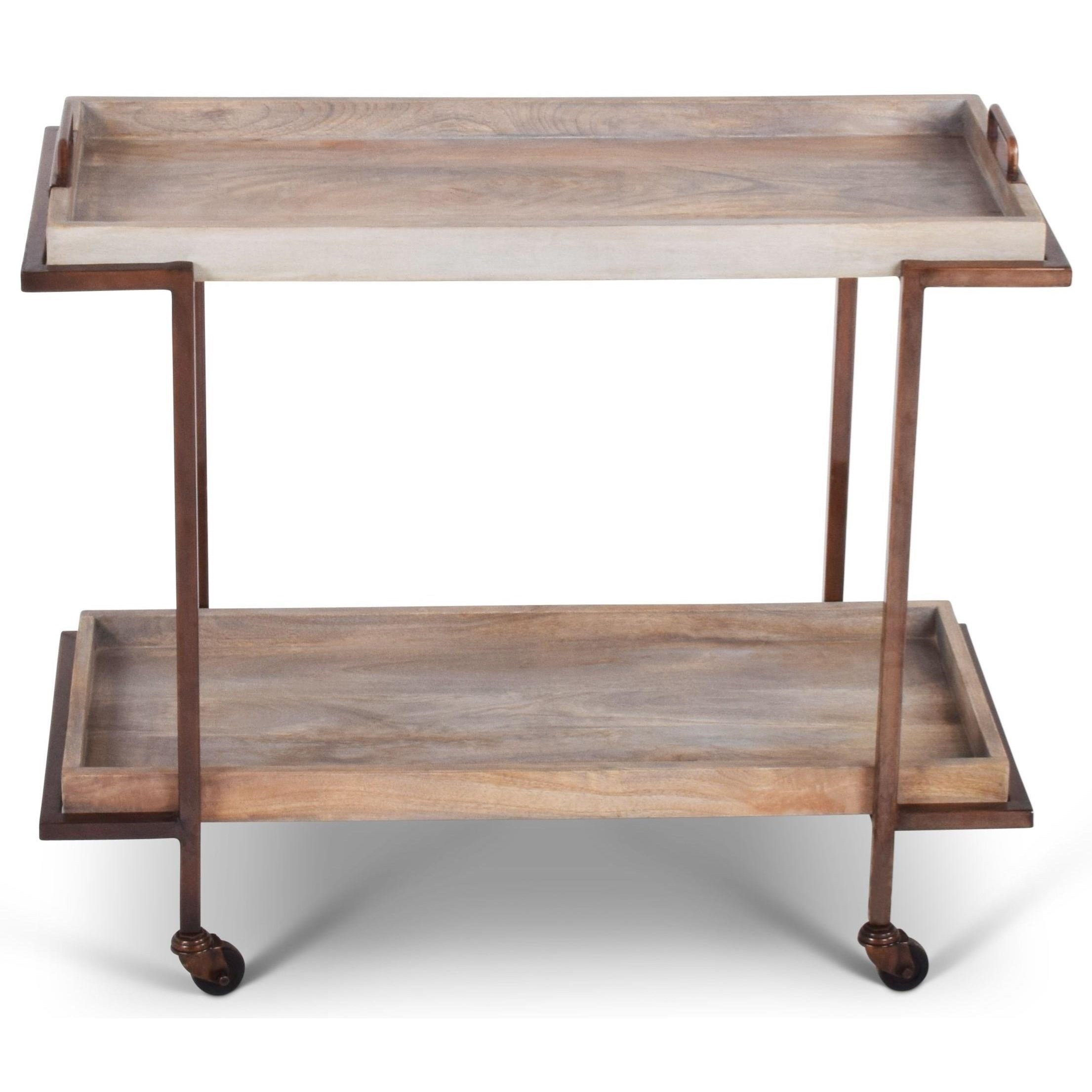 India Accents Conway Cart by Steve Silver at Walker's Furniture