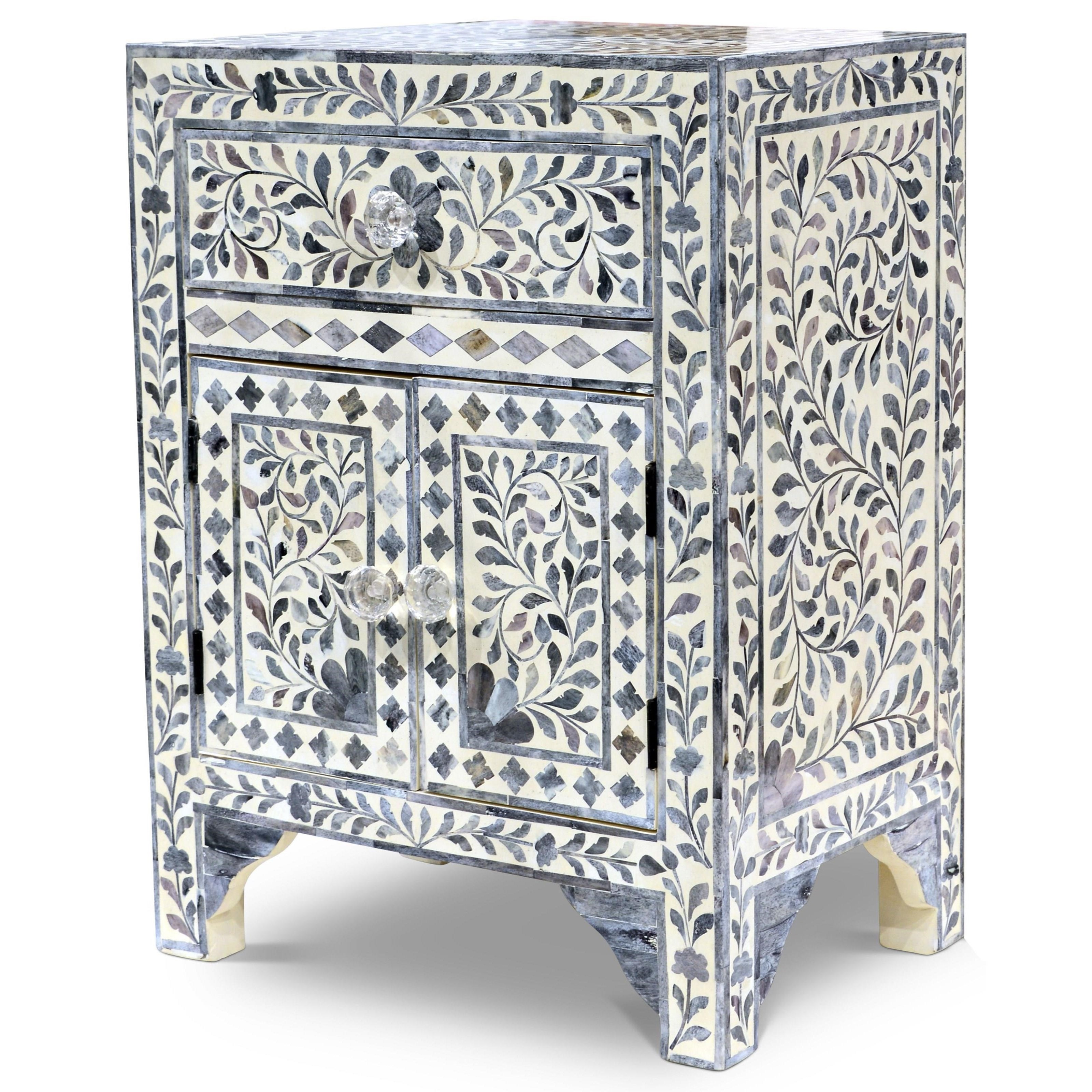 India Accents Fowler Accent Cabinet by Steve Silver at Standard Furniture