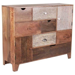 Contemporary Gloria Multi Drawer Sideboard
