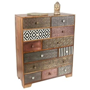 Contemporary Havannah Multi Drawer Sideboard
