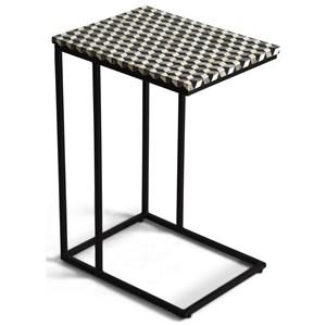 Contemporary Kimball Sofa Server with Geometric Top
