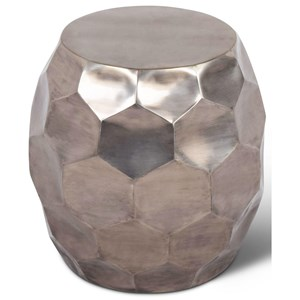 Contemporary Stomp Round End Table