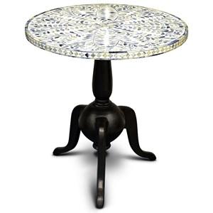Contemporary Silva Round End Table