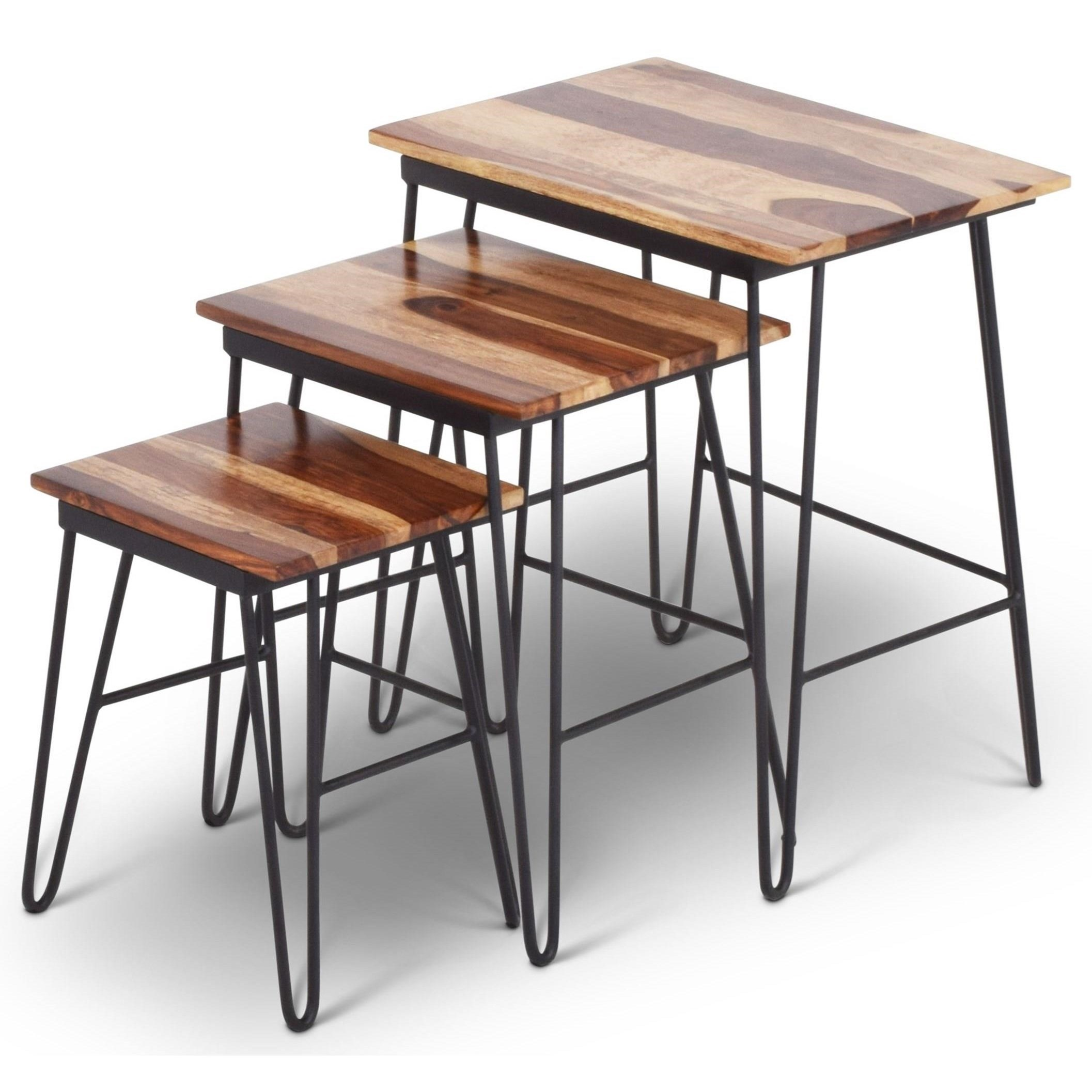 India Accents Tristan Nesting Tables by Steve Silver at Walker's Furniture
