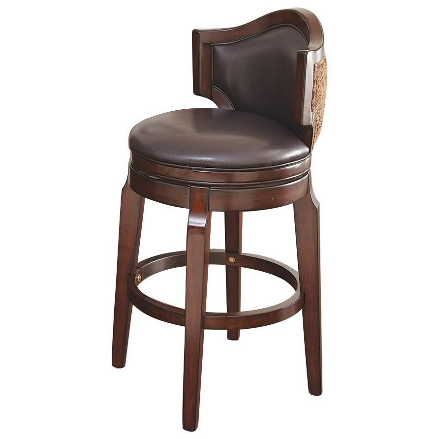 Jasper Bar Chair by Steve Silver at Walker's Furniture