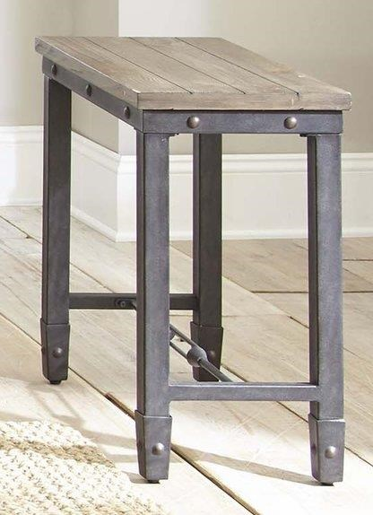 Jersey Jersey Chair Side Table by Steve Silver at Morris Home