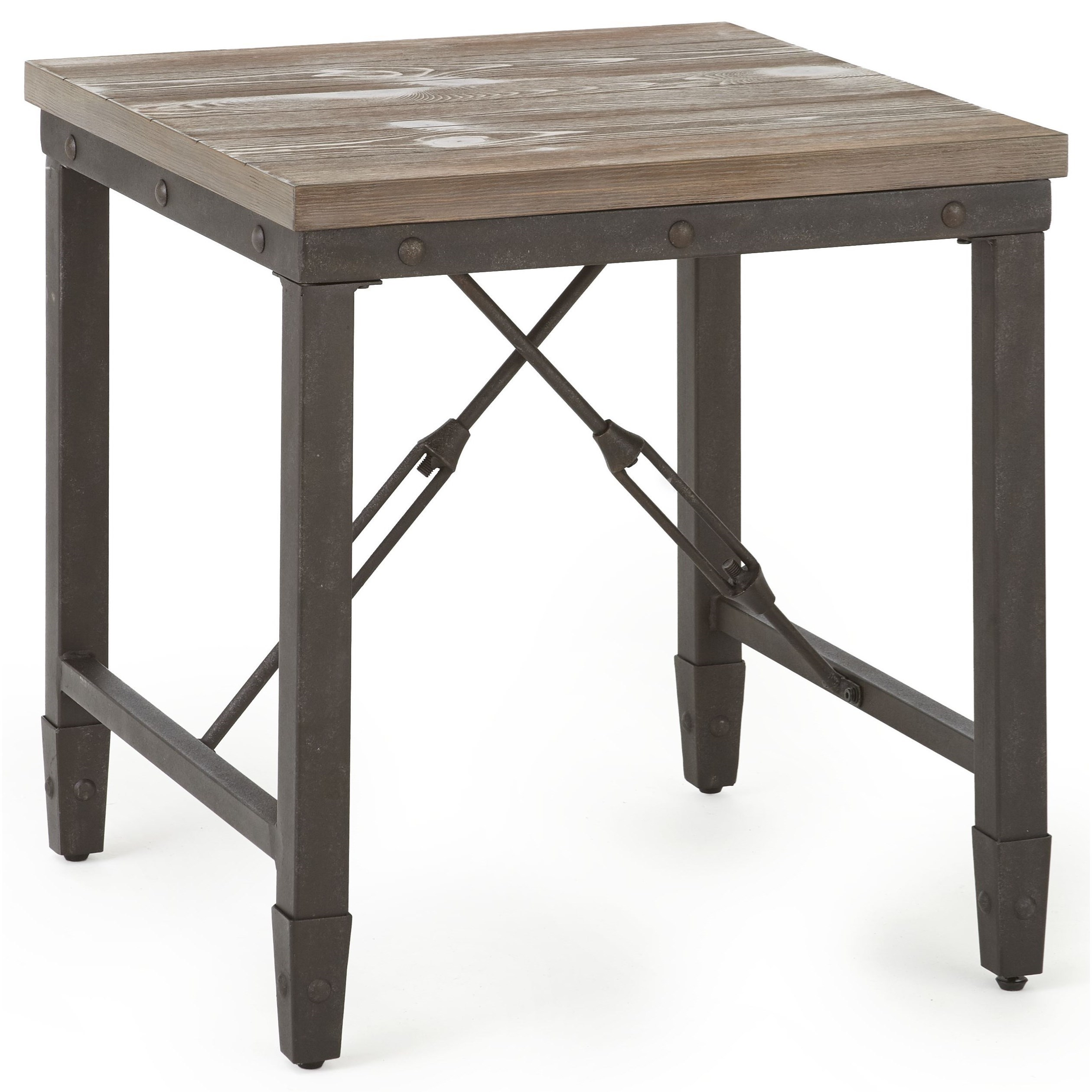 Jersey End Table by Steve Silver at Walker's Furniture