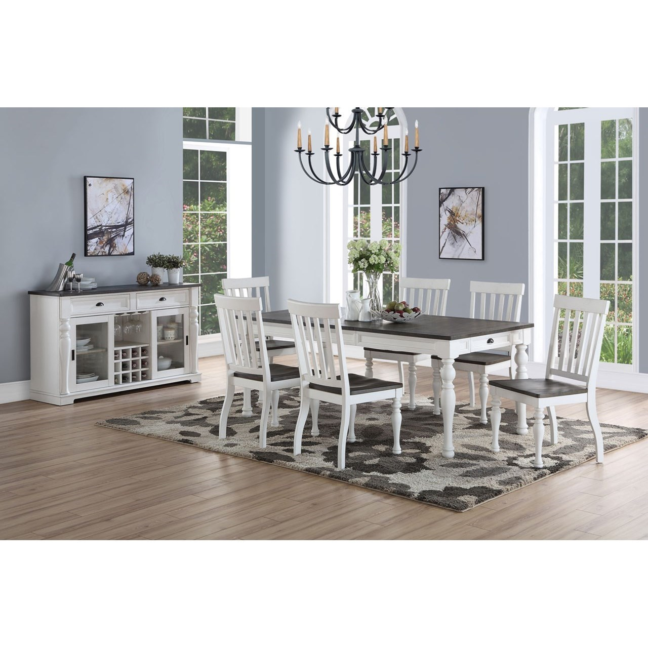 Joanna Dining Room Group by Steve Silver at Northeast Factory Direct
