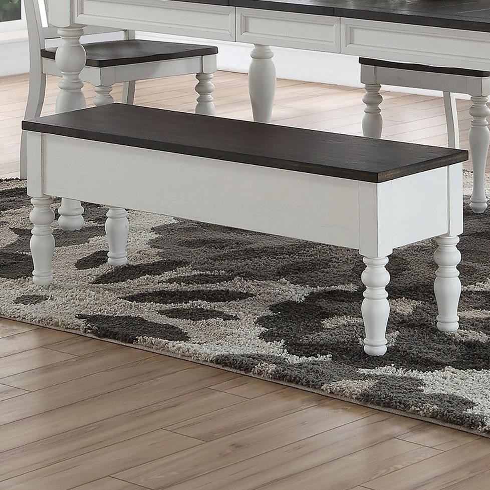 Joanna Dining Room Bench by Steve Silver at Walker's Furniture