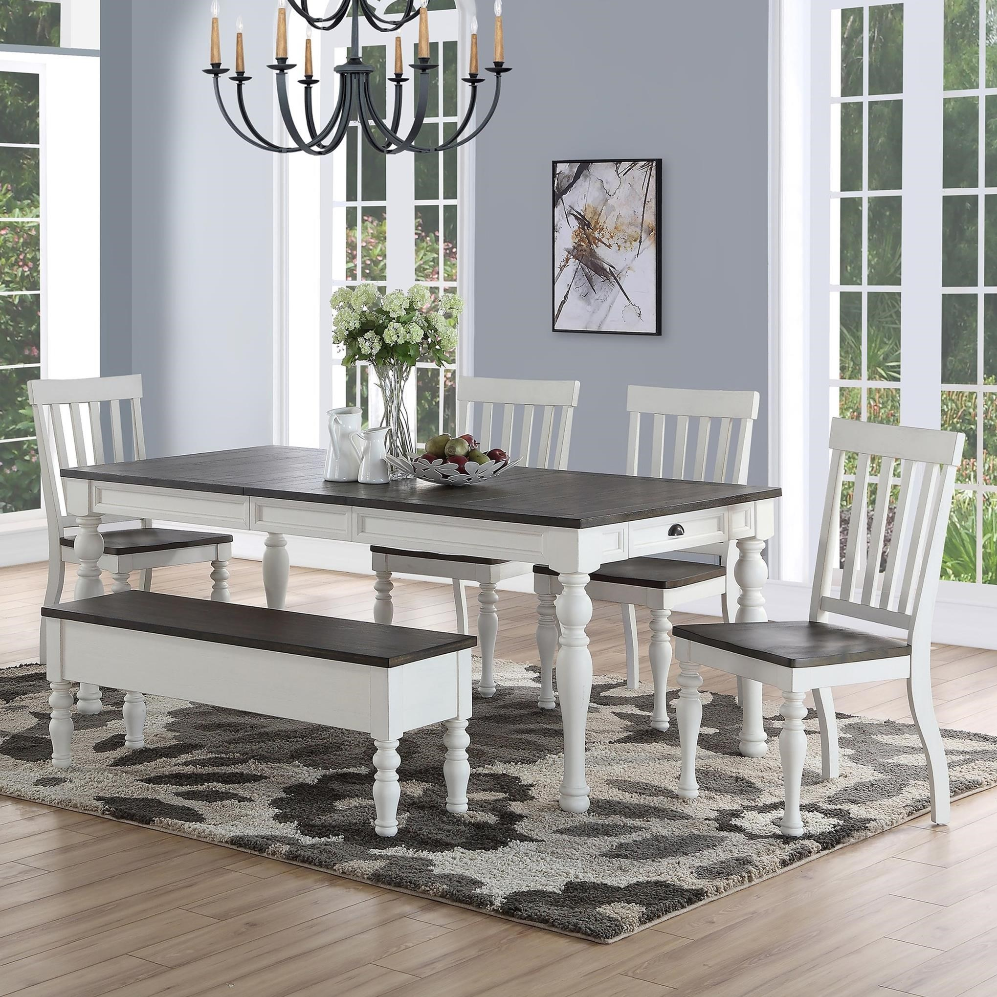 Joanna Dining Table Set by Steve Silver at Northeast Factory Direct