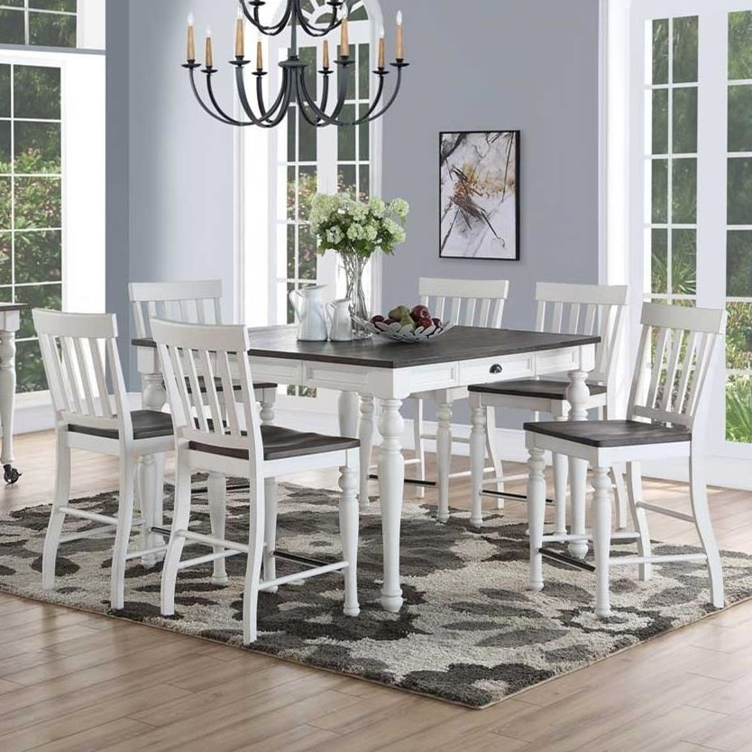 Joanna Counter Height Dining Set by Steve Silver at Northeast Factory Direct