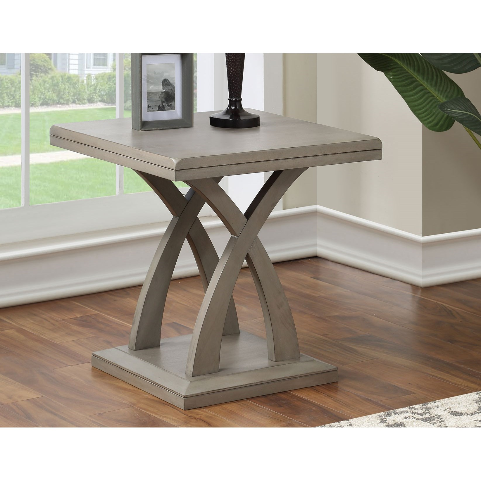 Jocelyn End Table by Steve Silver at Northeast Factory Direct