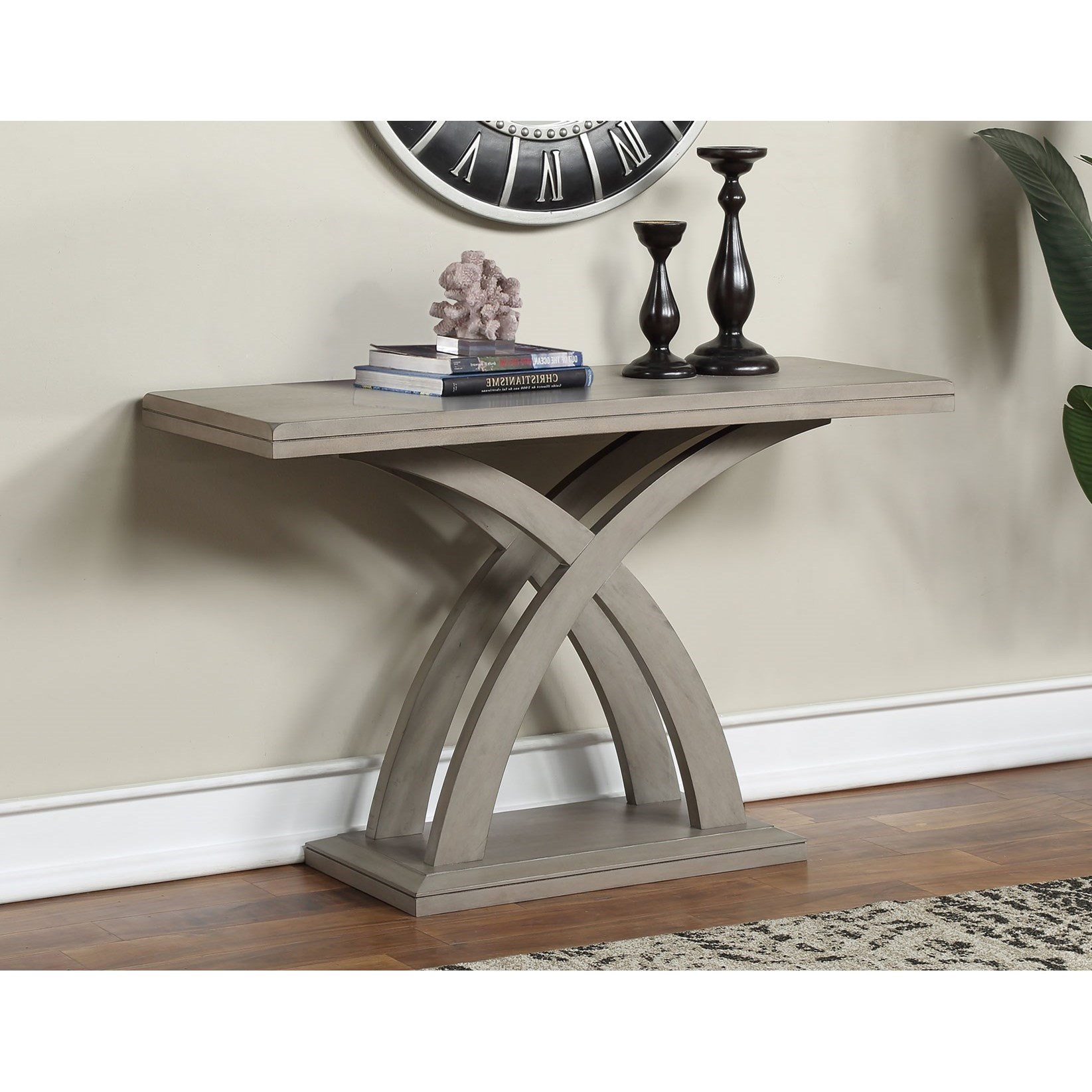 Jocelyn Sofa Table by Steve Silver at Walker's Furniture
