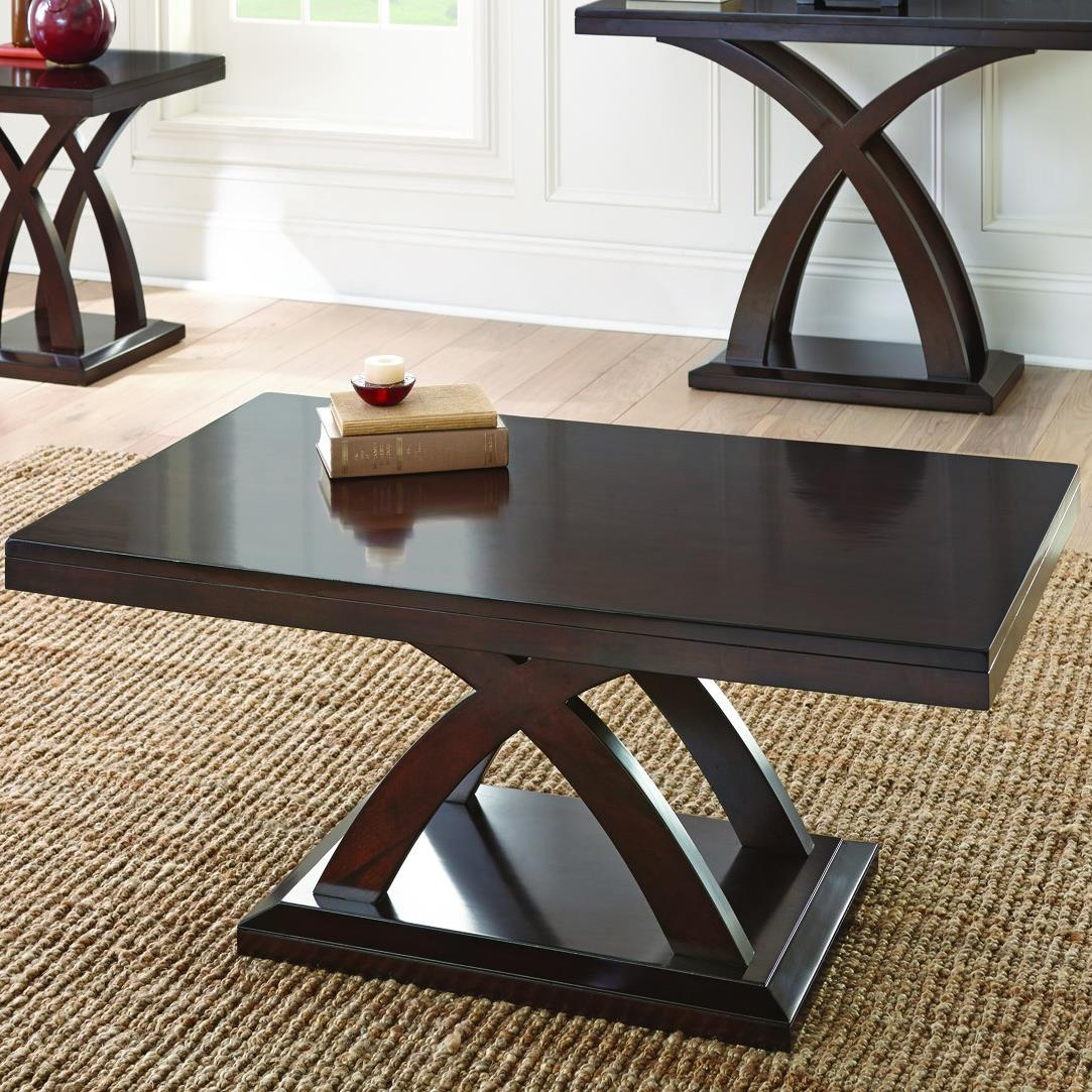 Jocelyn Cocktail Table by Steve Silver at Walker's Furniture