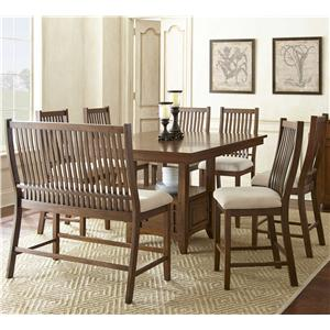 8 Piece Counter Height Dining Set