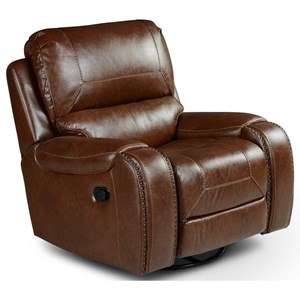 Manual Motion Swivel Glider Recliner Chair