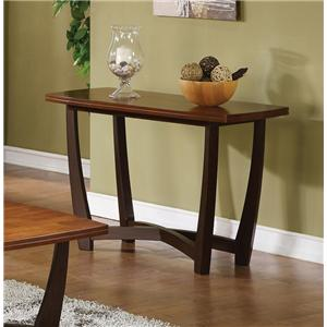 Contemporary Arched X Stretcher Sofa Table