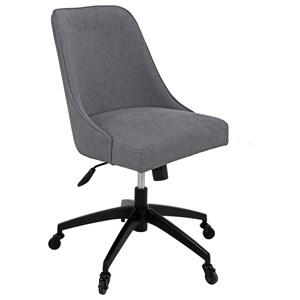 Swivel Upholstered Desk Chair