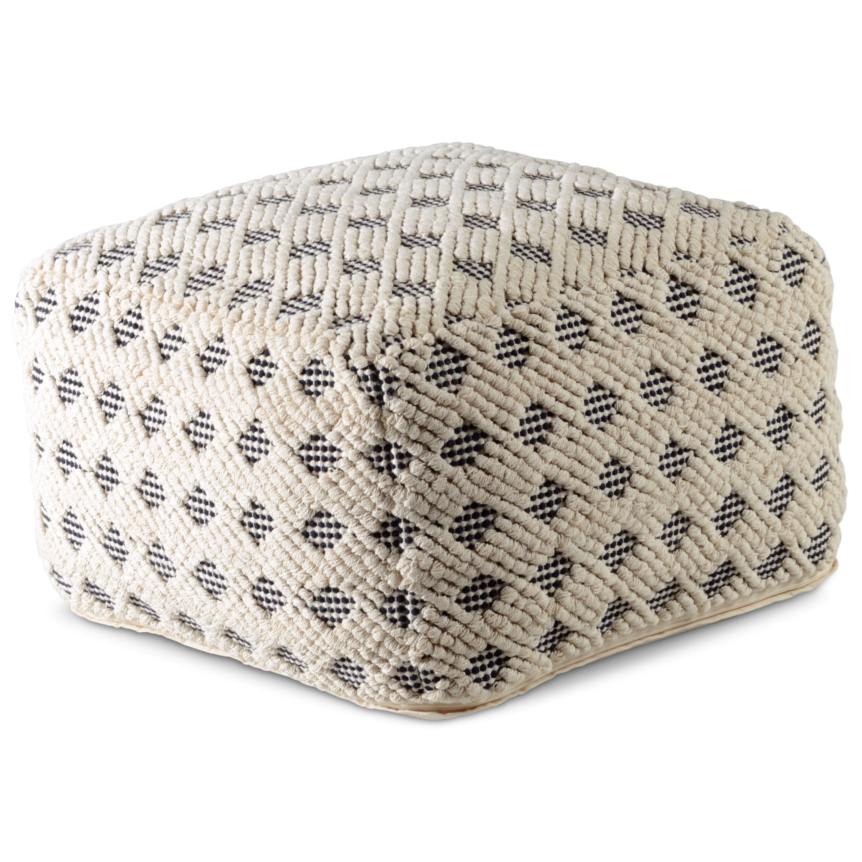 Kodi Square Pouf by Steve Silver at Northeast Factory Direct