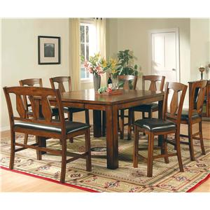 Steve Silver Lakewood  8 Piece Counter Height Set
