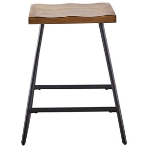 Contemporary Counter Height Bar Stool