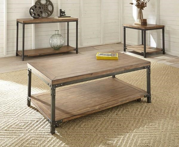 Lantana Cocktail Table with 2 End Tables by Steve Silver at Sam Levitz Outlet