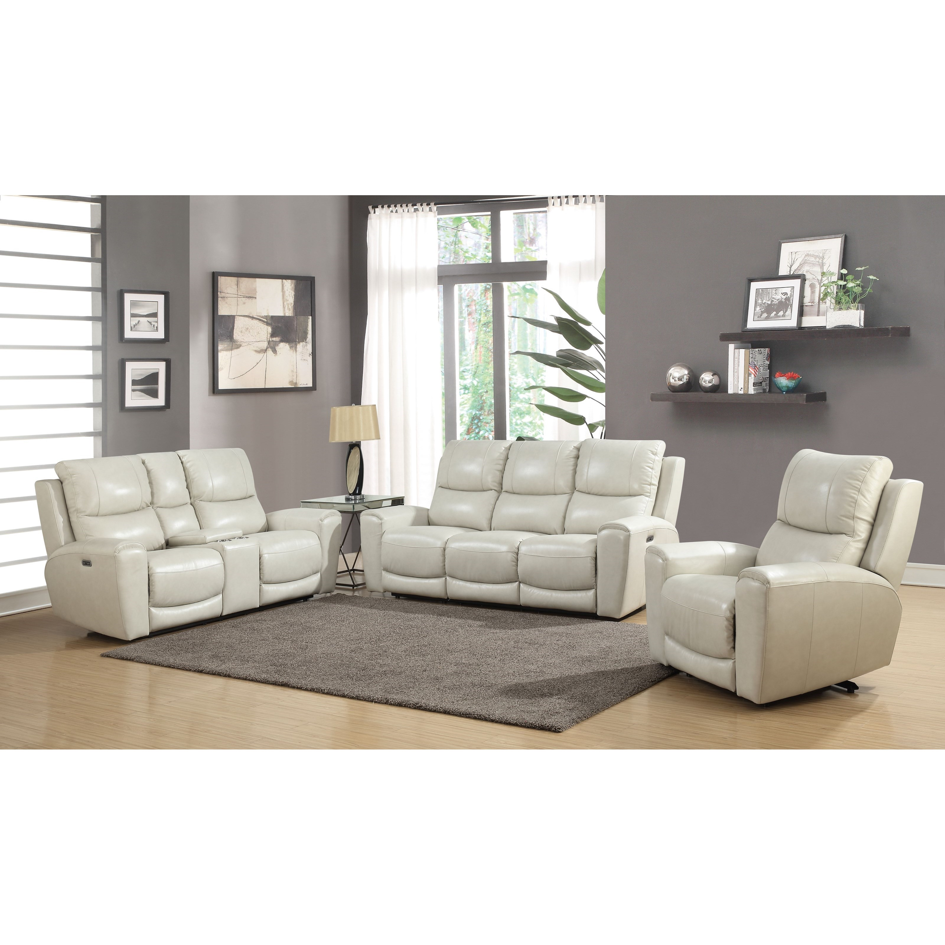 Laurel Reclining Living Room Group by Steve Silver at Van Hill Furniture