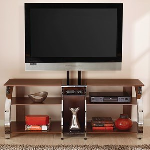 Contemporary TV Stand with Mounting Bracket