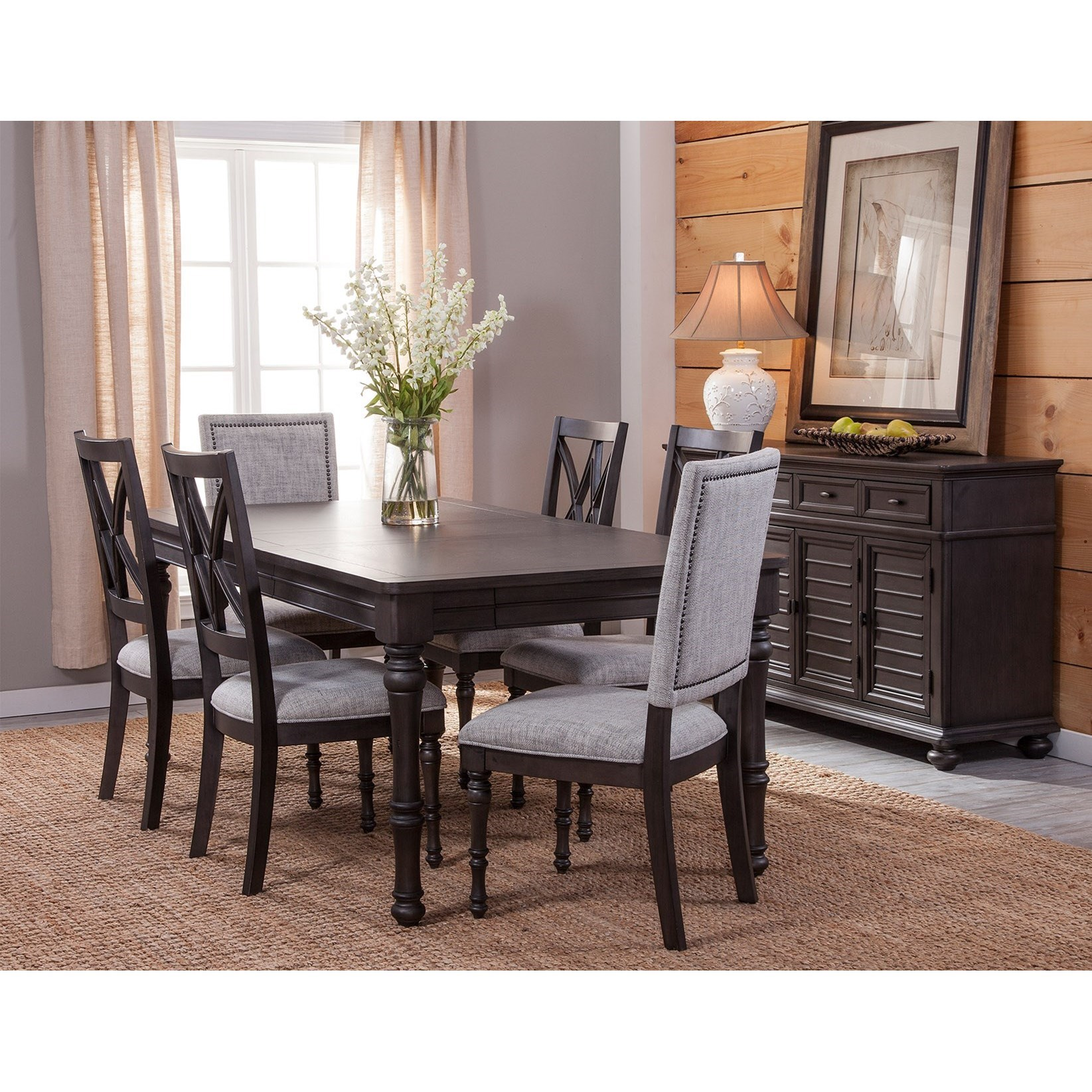 Linnett Formal Dining Room Group by Steve Silver at Northeast Factory Direct