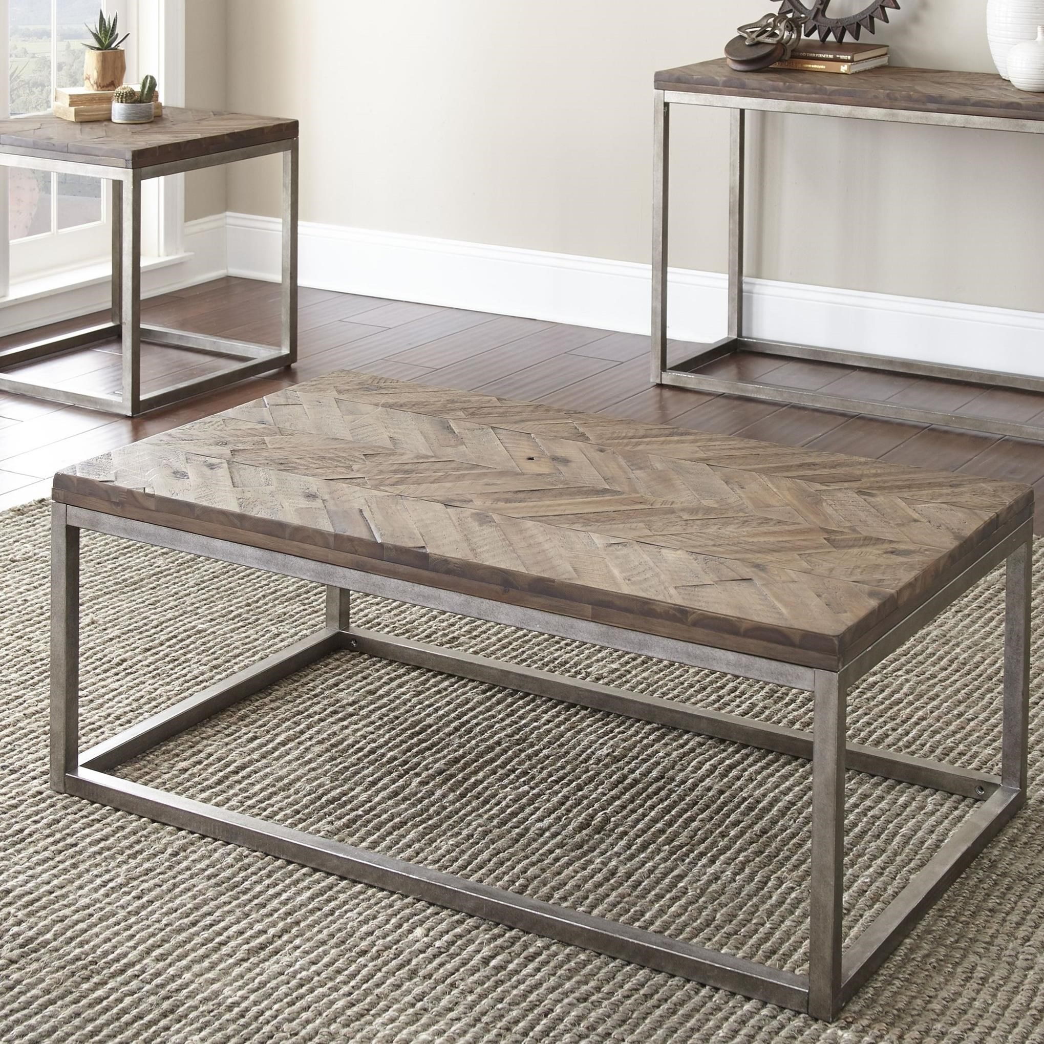 Lorenza Cocktail Table by Steve Silver at Walker's Furniture