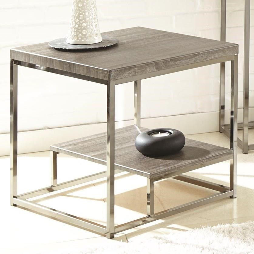 Lucia End Table by Steve Silver at Walker's Furniture