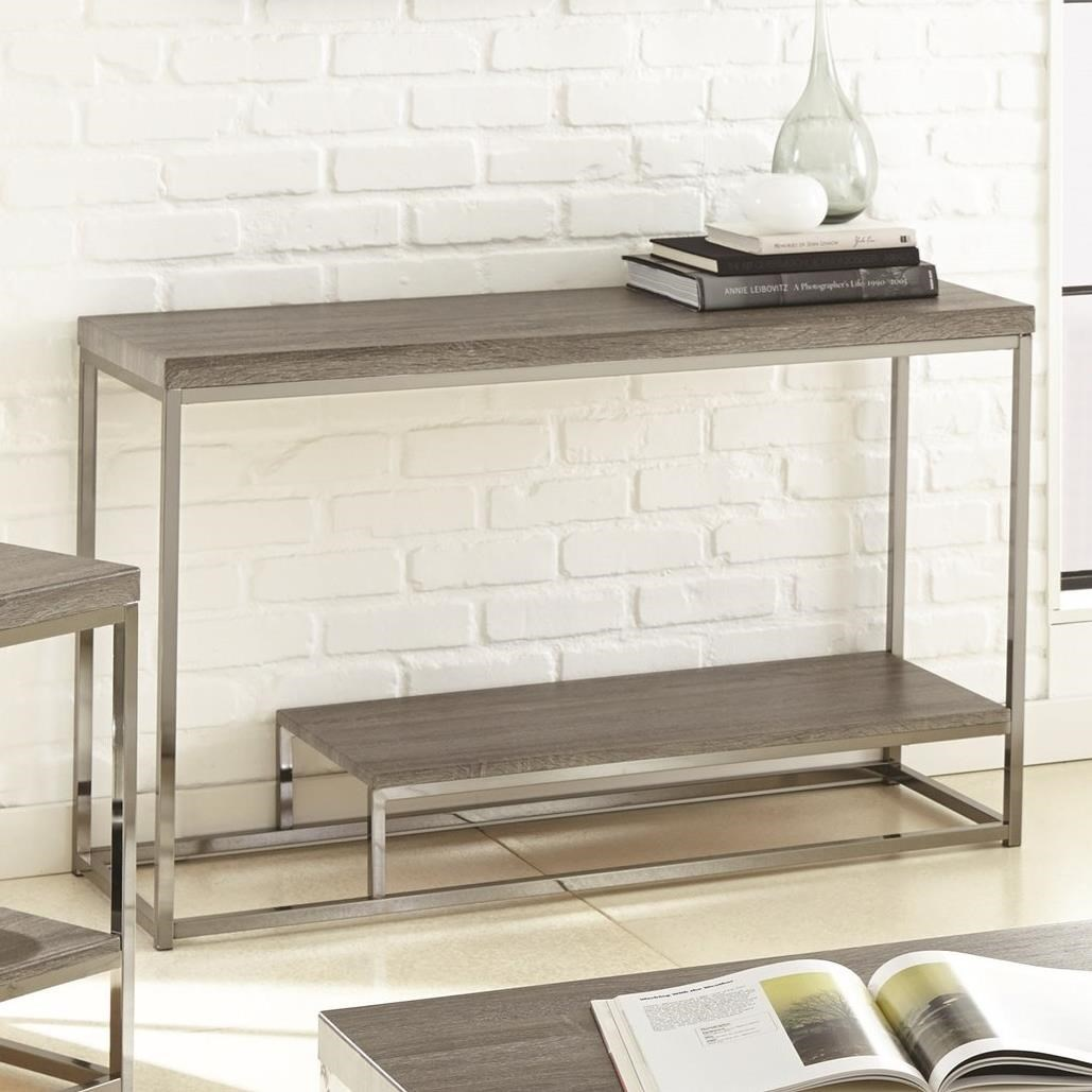 Lucia Sofa Table by Steve Silver at Walker's Furniture