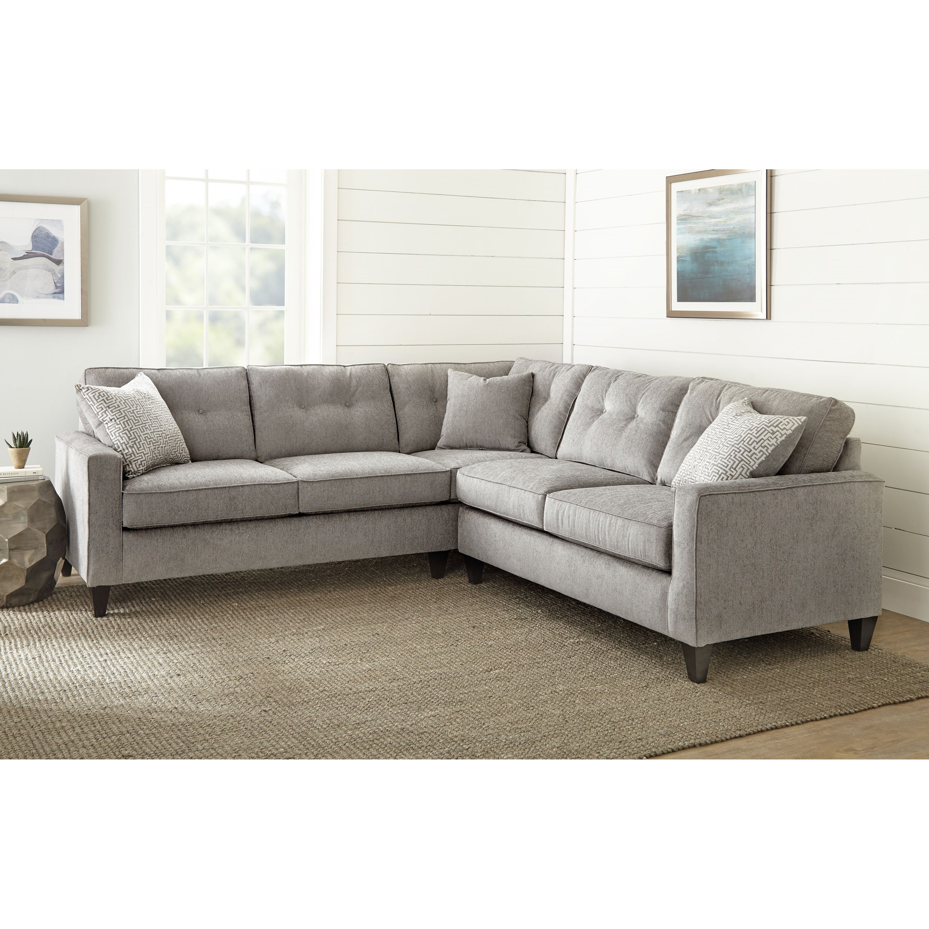 Maddox 2 Piece Sectional by Steve Silver at Van Hill Furniture