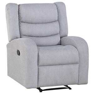 Channel Back Recliner